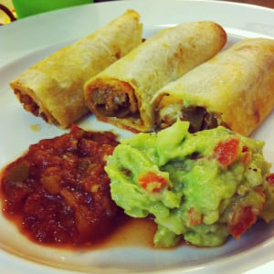 Beef Taquitos! So easy to make and you simply bake these in the oven! Have these for lunch or dinner, and have your kids help make them! Enjoy!