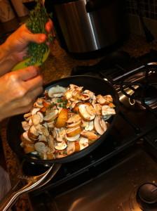 Mushroom, Tomato & Iberico Panini