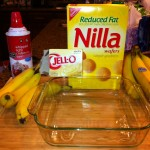 Banana Wafer Pudding- Great for Kids!