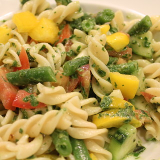 Light, Refreshing Fusilli Pasta Salad
