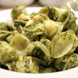 Orecchiette Pasta with Pesto