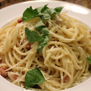 Creamy Spaghetti Carbonara