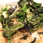 Crispy Kale & Tofu Salad