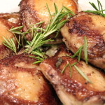 Rosemary Chicken Thighs