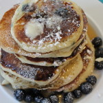 Blueberry- Buttermilk Pancakes