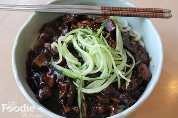 Instant Black Bean Noodles Noodles With Black Bean