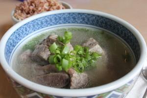 Korean Food: Galbi Tang (Short Rib Soup)