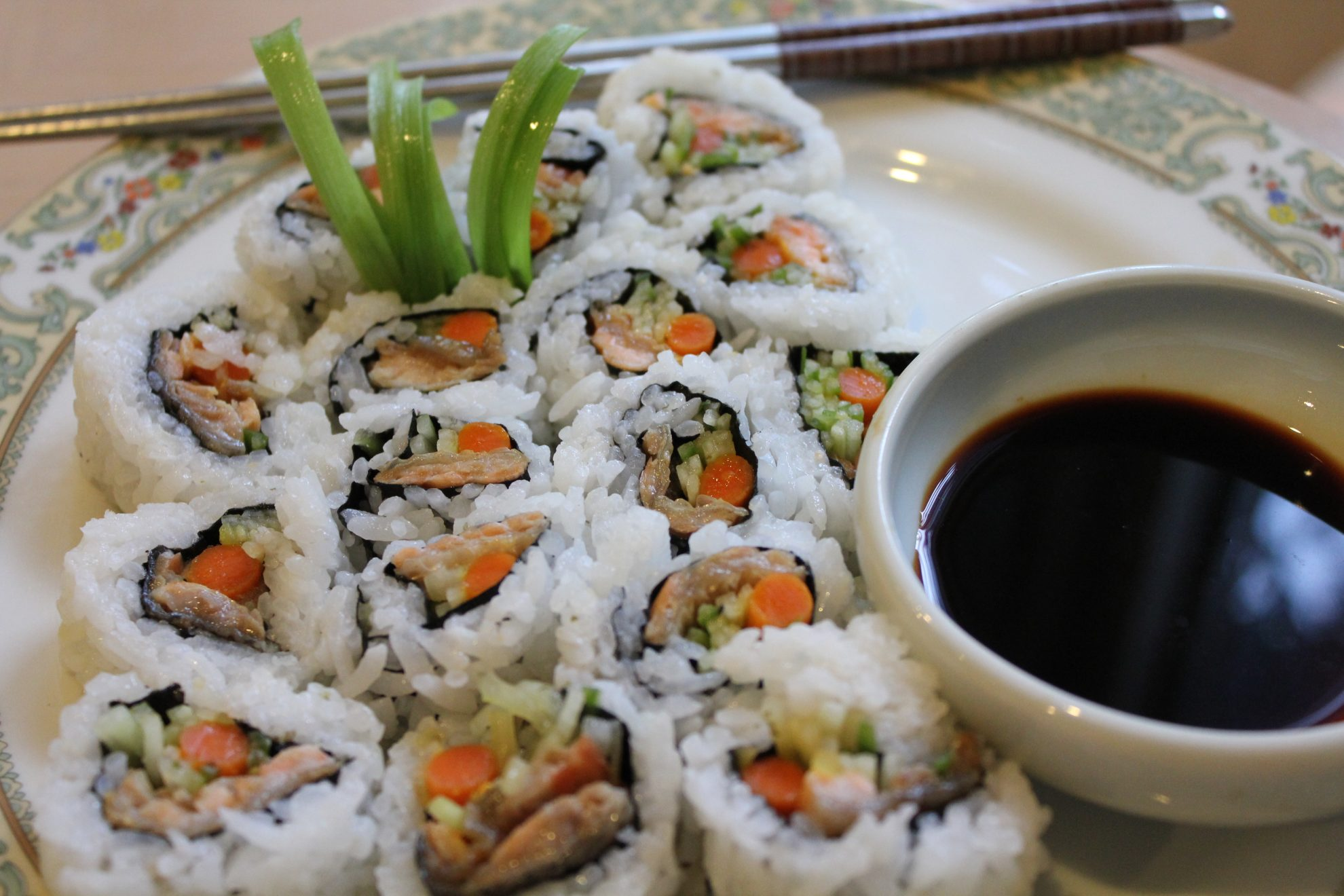 This Is How I Salmon Skin Roll Sushi Part 2 Hip