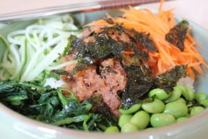 Spicy Tuna/ Ahi Tuna Poke Bowl