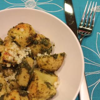 Grilled Pesto Potatoes