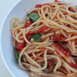 A Little Roy Choi and His Spaghetti!