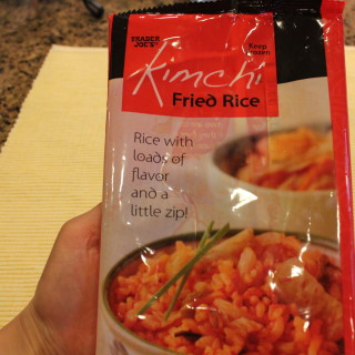 Kimchi Fried Rice- Product Recommendation