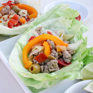 Turkey Lettuce Wraps