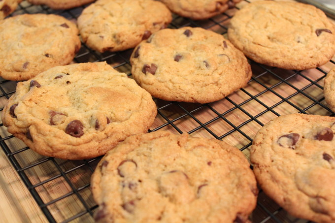 New York Times Chocolate Chip Cookie Recipe. Certainly, you've heard about this cookie. If you're like me, and have a love affair with chocolate chip cookies, you simply have to bake these and try them for yourself. So good!