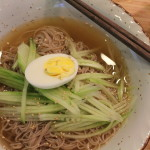 Korean Food: Mul Naeng Myun (Cold Noodles)
