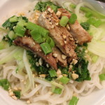 Lemongrass-Barbecued Pork with Brown Rice Vermicelli Noodles
