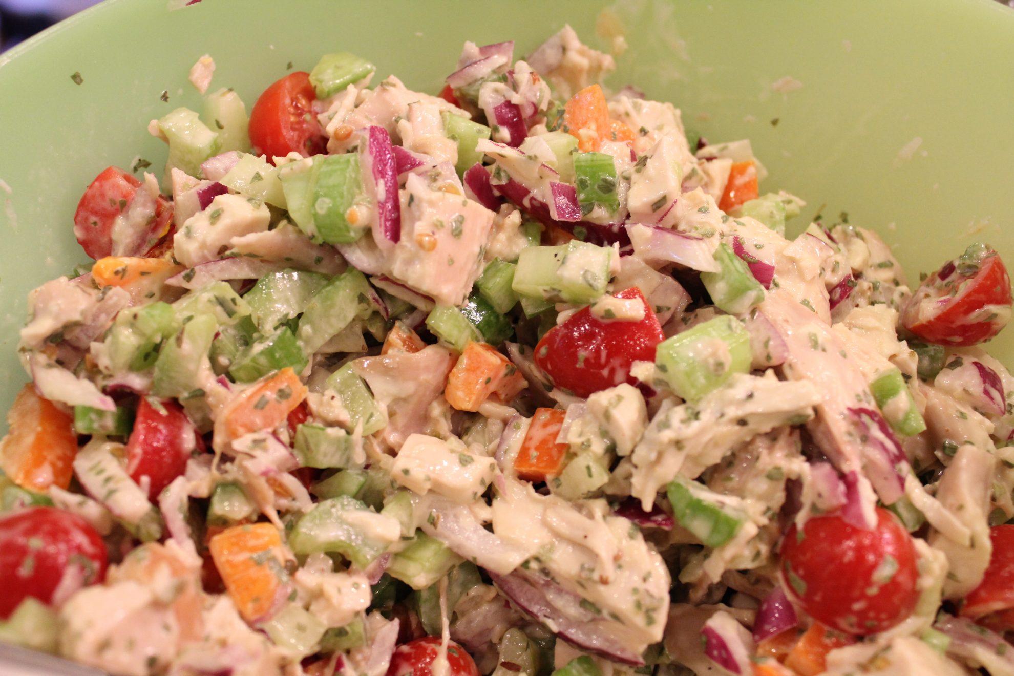 Tarragon Chicken Salad • Hip Foodie Mom