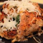 Cajun Chicken Stuffed with Mozzarella Cheese & Spinach