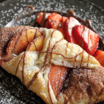 Peach Croissants and Savory Sweet Life
