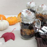Pumpkin Pie Re-Invented. Pumpkin Pie Parfait.