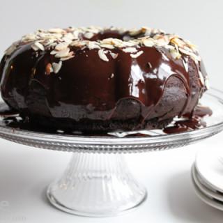 Mexican Chocolate Bundt Cake with Chocolate Glaze for #BundtaMonth