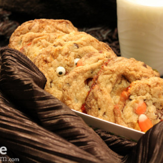 BOO Candy Corn and Chocolate Chip Cookies for Halloween #SundaySupper