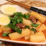 Korean Food: Dukboki – Korean Rice Cake in Red Pepper Sauce