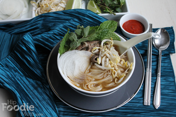 Faux Pho Bo for the Keys To The Kitchen Virtual Dinner Party