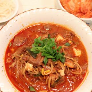 Korean Food: Yukgaejang (Beef Brisket Soup)