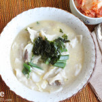 Korean Food: Duk Mandu Guk for New Year's Day!!