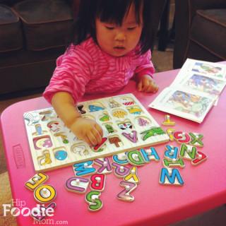 Amazed with the Melissa and Doug Alphabet Puzzle