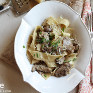 Pappardelle with Mushrooms. My Ode to Pasta.