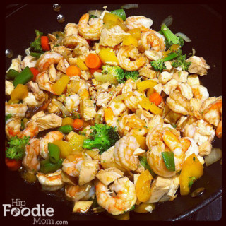 Shrimp and Chicken Stir Fry