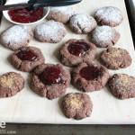 Chocolate Hazelnut Cookies. .  Three Ways!!