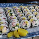 Kimbap or Korean Seaweed Rice Rolls and Getting Spoiled.