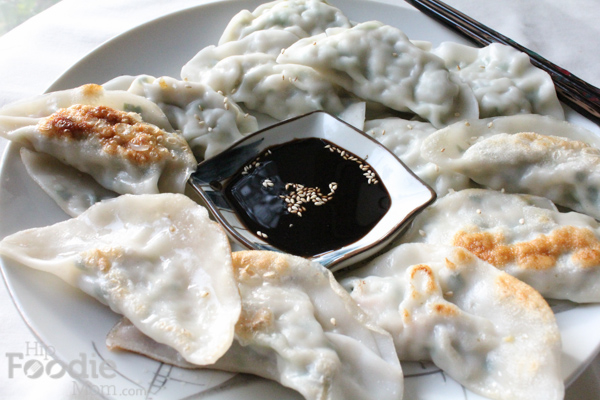 So delicious and versatile, Korean Homemade Dumplings are fun to make and well worth the work! #LunarNewYear #dumplings #asianfood