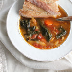 Warming up with Minestrone Soup