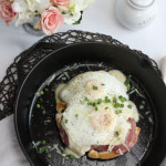 Croque Madame Waffle. Your Waffle Never Looked So Good.