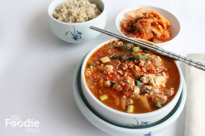Korean Food: Soft Tofu Soup (Soondubu Jjigae) for #SundaySupper - Hip ...