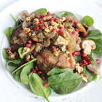 Celebrating Walnuts this week! Walnut and Pomegranate Chicken.