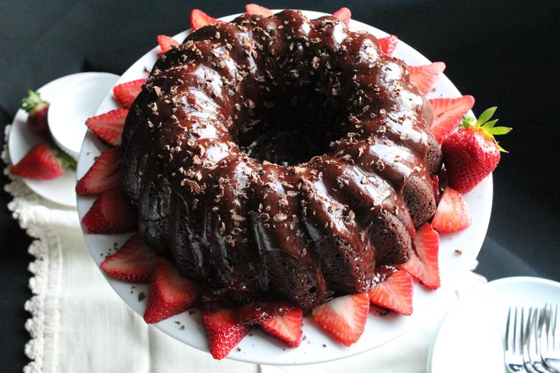 Chocolate Sauce For Bundt Cake