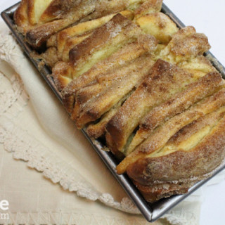 Sweet Cinnamon Sugar Pull-Apart Bread for #TwelveLoaves