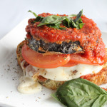 Helping Eggplant Make a Comeback with an Eggplant Caprese Sandwich!