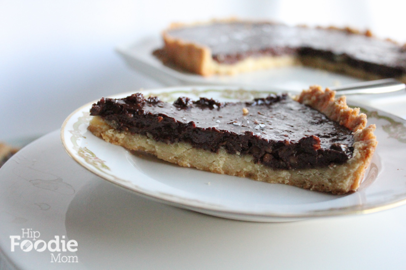 Bittersweet Chocolate Tart Recipe — Dishmaps