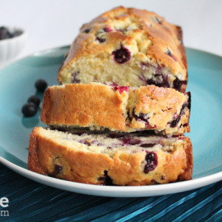 Lemon Blueberry Bread for #TwelveLoaves