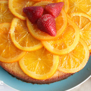 Olive Oil Cake with Candied Orange Marmalade for #SundaySupper