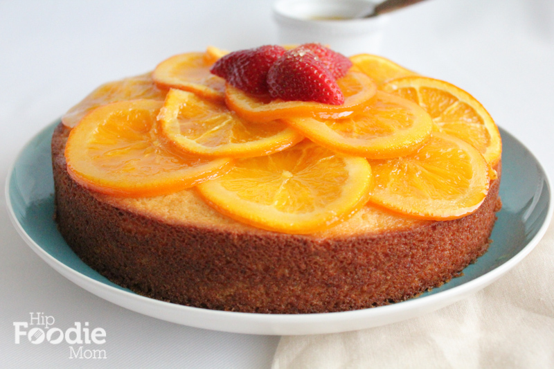 olive oil cake | main shot |hip foodie mom