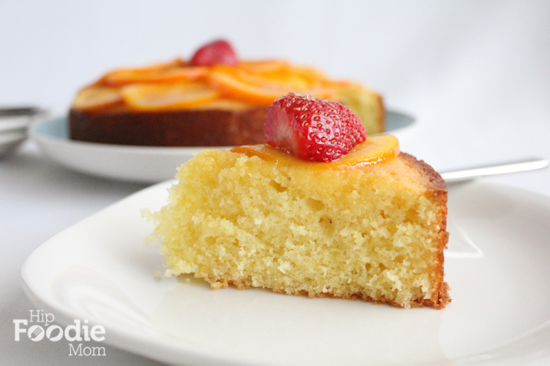 olive oil cake slice hip foodie mom