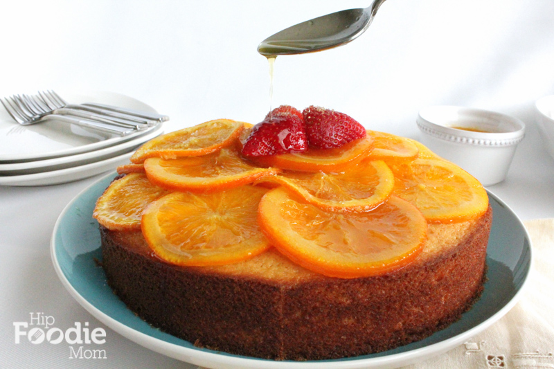 Olive Oil Cake with Candied Orange Marmalade for #SundaySupper - Hip ...
