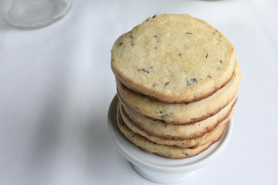 thyme_shortbread_cookies_stack_Hip Foodie Mom